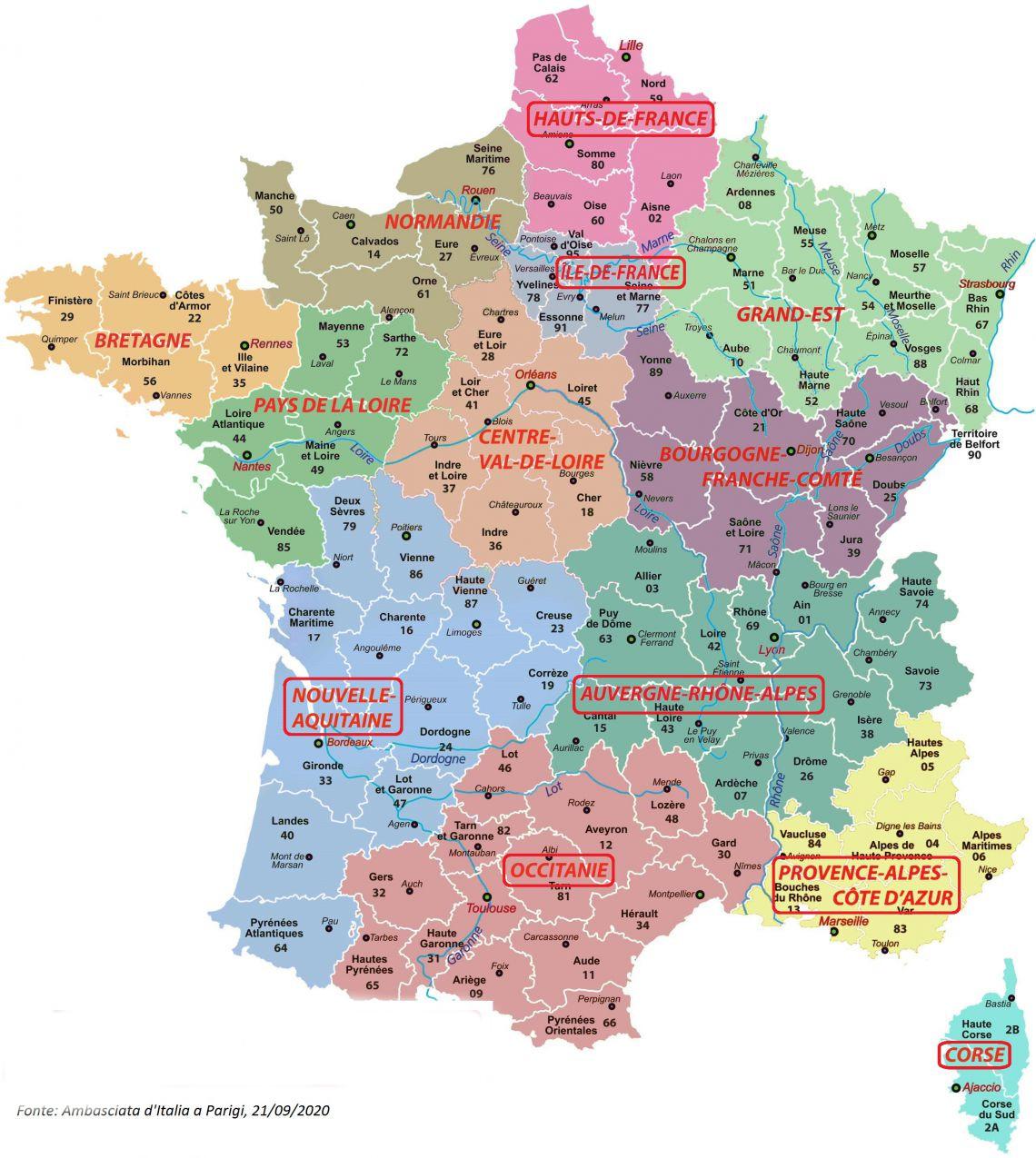 Test sierologico obbligatorio per chi rientra in Italia e proviene dalla  Corsica e dalle zone rosse Francesi