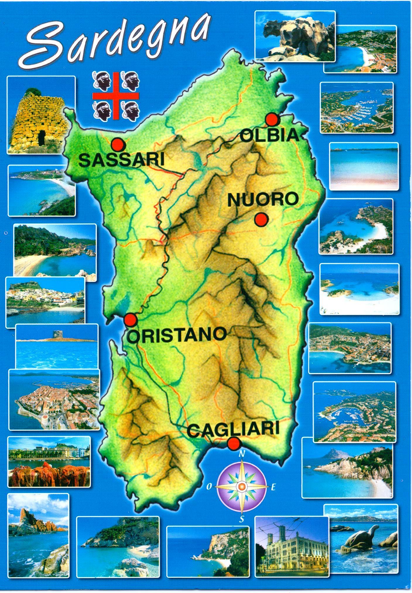 Sardinia warnings for accessing Sardinia